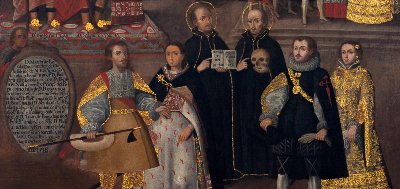 La obra invitada. <em>Matrimonios de Martín de Loyola con Beatriz Ñusta y de Juan de Borja con Lorenza Ñusta de Loyola</em>