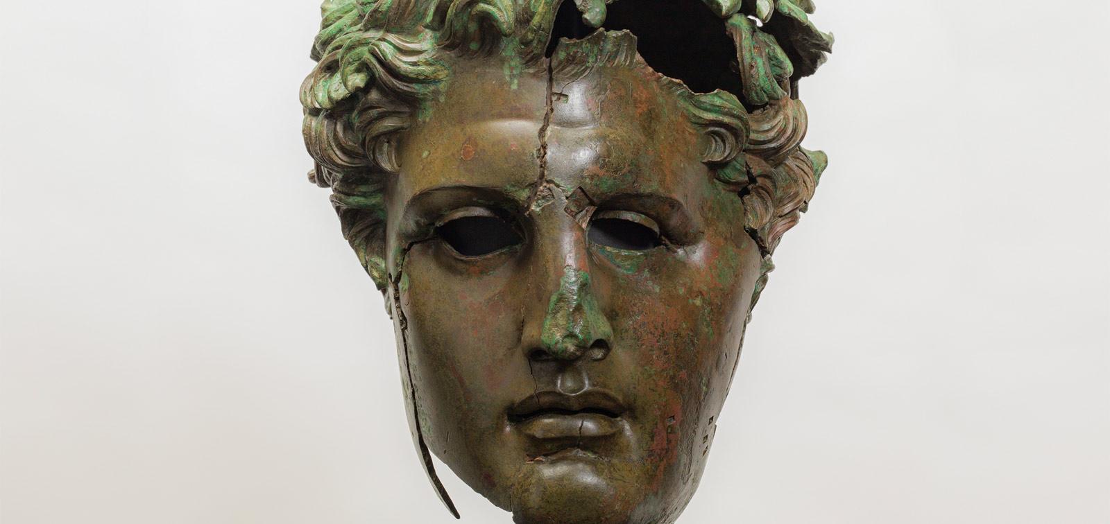 Demetrius Poliorcetes. A monumental hellenistic bronze restored