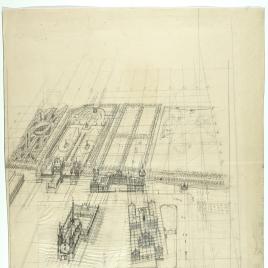Proyecto urbanístico y arquitectónico para el entorno de los Jerónimos