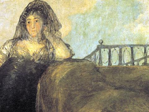 <em>Una manola: Leocadia Zorrilla</em>, Francisco de Goya y Lucientes, comentada por Cirilo Martínez Novillo