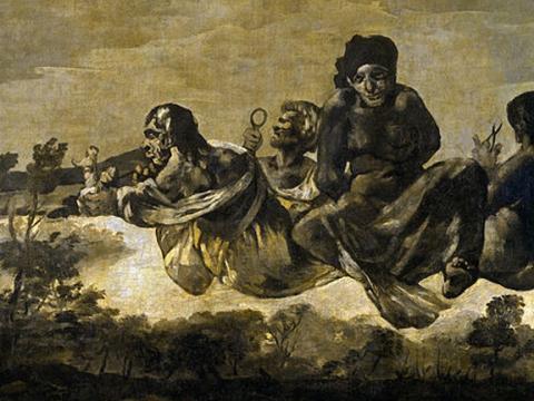 <em>Las Parcas (Átropos)</em>, Francisco de Goya y Lucientes, comentada por Darío Villalba