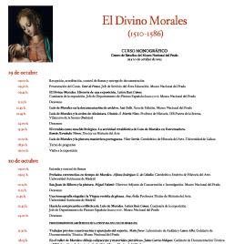 El Divino Morales (1510-1586) [Recurso electrónico] : curso monográfico , Centro de Estudios del Museo Nacional del Prado / Museo Nacional del Prado.