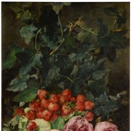 Fresones y rosas