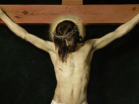 <em>Cristo crucificado</em>, Diego Rodríguez de Silva y Velázquez, comentada por Antonio Saura