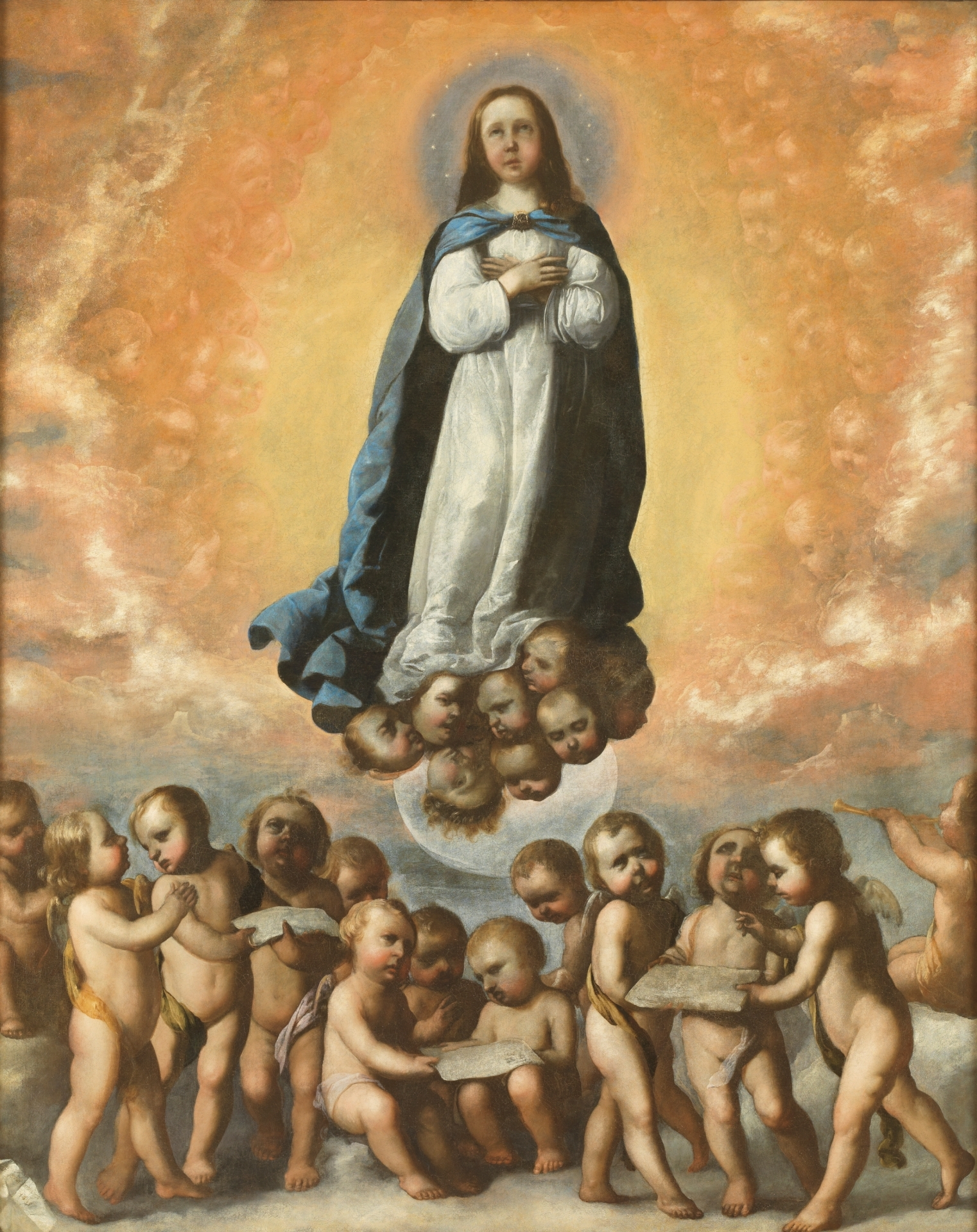 The Immaculate Conception as a Child - The Collection - Museo Nacional del  Prado