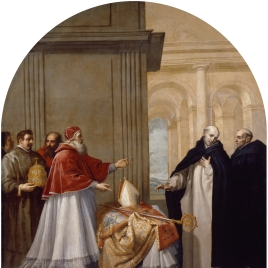 Saint Bruno Refuses the Archbishopric of Reggio Calabria