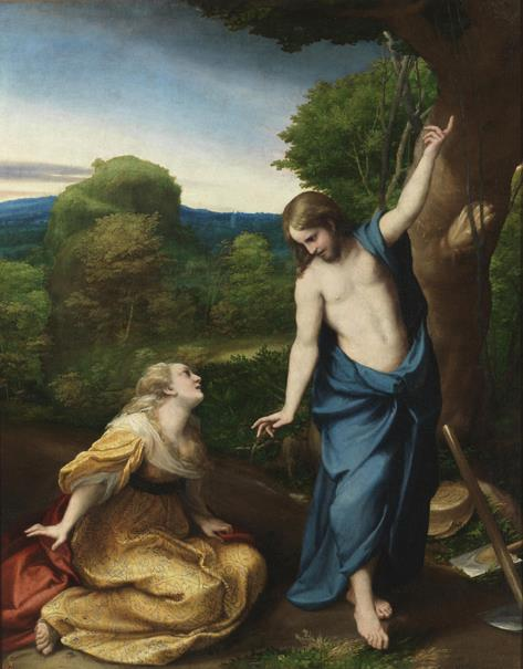 Noli me tangere (Didú reproduction)