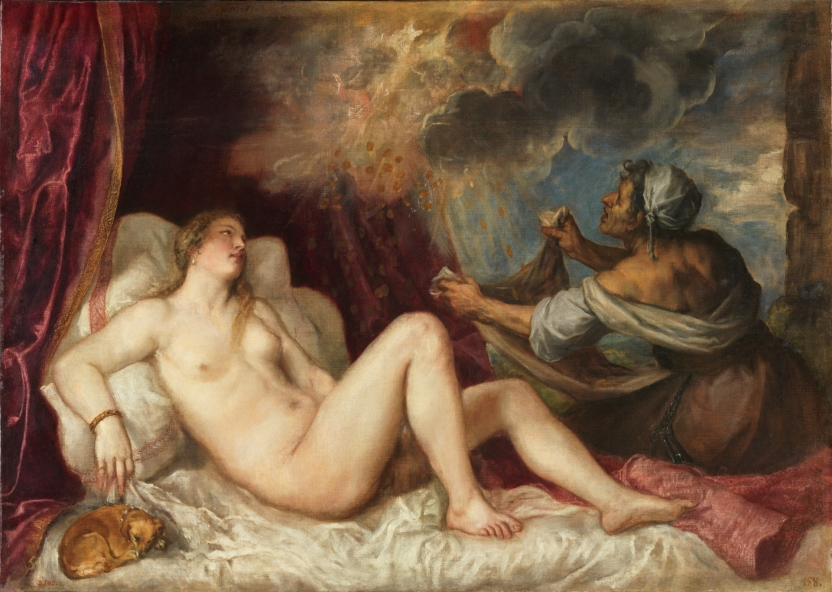 Danaë and the Shower of Gold
