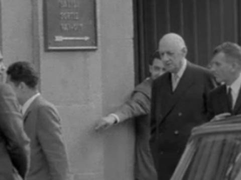 Visita de De Gaulle al Museo del Prado