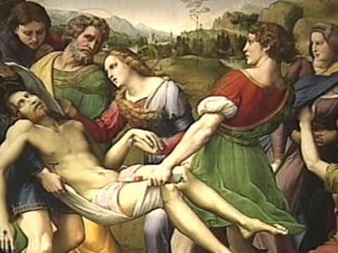 Las pinturas de Rafael llegan al Prado entre fuertes medidas de seguridad