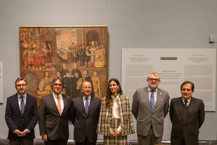 El Prado expone Matrimonios de Martín de Loyola con Beatriz Ñusta y de Juan de Borja con Lorenza Ñusta de Loyola, procedente del Museo Pedro de Osma en Lima