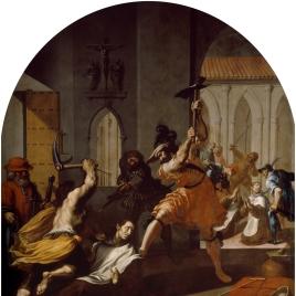 El martirio de los cartujos de Roermond