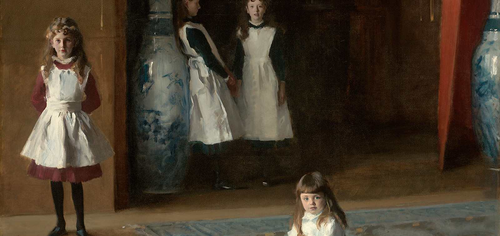 Invited work: The Daughters of Edward Darley Boit, Sargent
