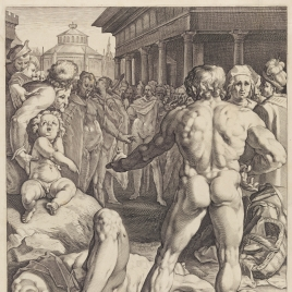 Ulysses' Fight with Irus