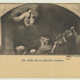 Fundación de Santa María Maggiore de Roma. El sueño del patricio Juan