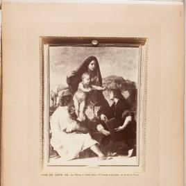 Virgen con el Niño entre san Mateo y un ángel