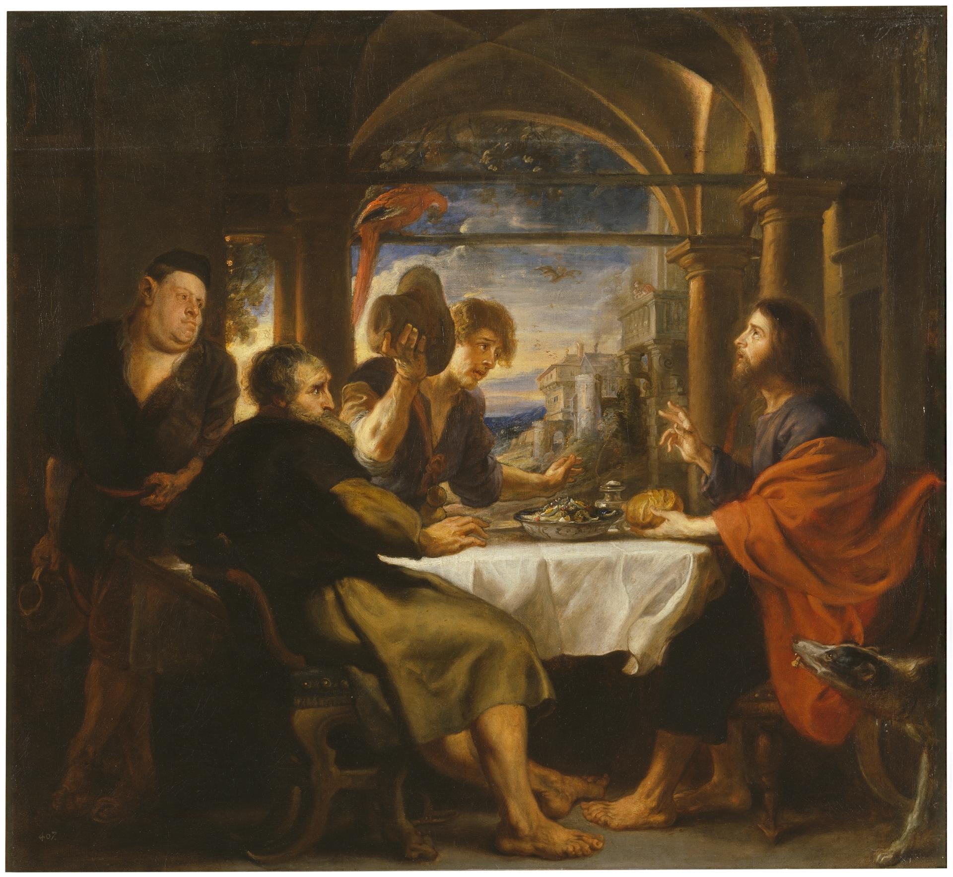 La cena de Emaús - Colección - Museo Nacional del Prado