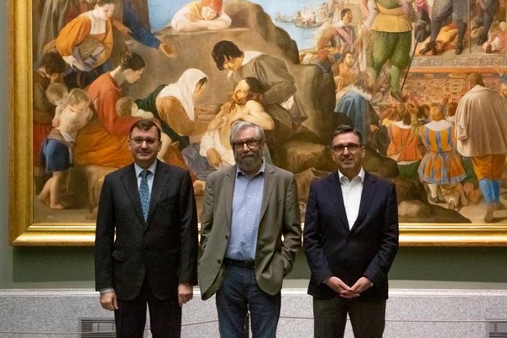 """Antonio Muñoz Molina dirige la Cátedra del Prado 2019 bajo el título """"Rondas del Prado: en el jardín de las imágenes"""""""