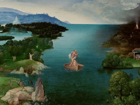 <em>El paso de la laguna Estigia</em>, Joachim Patinir, comentada por Julio Caro Baroja
