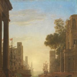 The Embarkation of Saint Paula