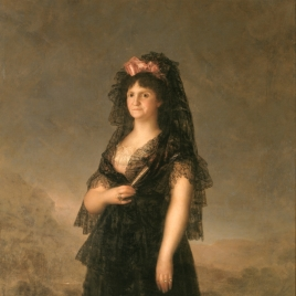 Queen María Luisa in a Mantilla