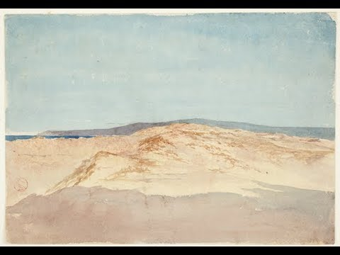 """Sand with Mountain Line. Morocco"" by Mariano Fortuny y Marsal"