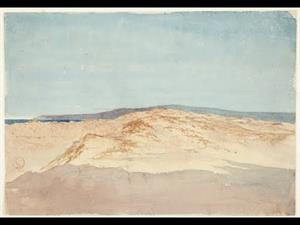 """""""Sand with Mountain Line. Morocco"""" by Mariano Fortuny y Marsal"""