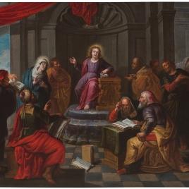 Disputa de Jesús con los Doctores en el Templo
