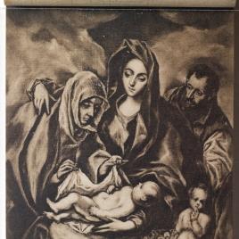 La Sagrada Familia, Santa Ana y San Juanito