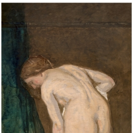 Female Nude, or After the Bath