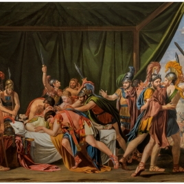 The Death of Viriatus, Chief of the Lusitanians (preparatory sketch)