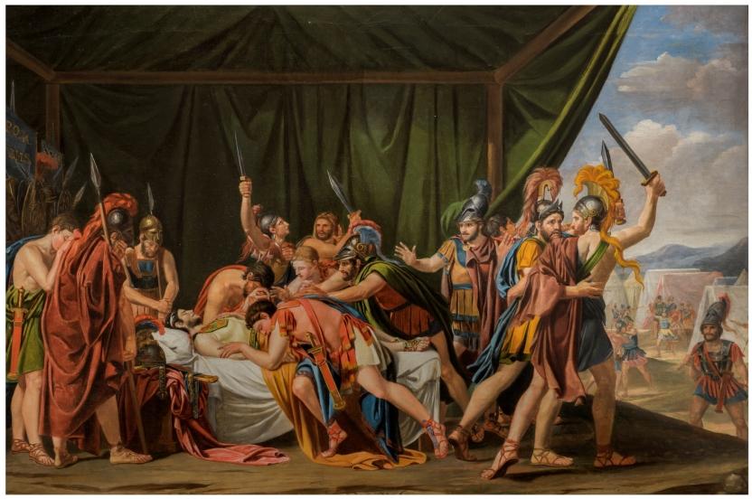 La muerte de Viriato (boceto)