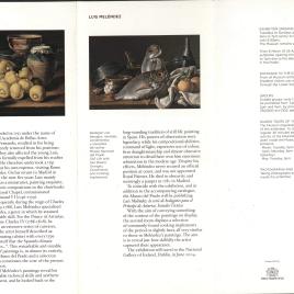 Luis Meléndez : bodegones = Luis Meléndez : Still Lifes / Museo Nacional del Prado.