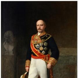 El capitán general Francisco de Serrano y Domínguez, I duque de la Torre