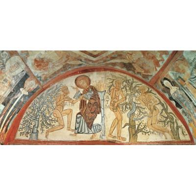 """Mural paintings from the chapel of Santa Cruz de Maderuelo (Segovia)"""