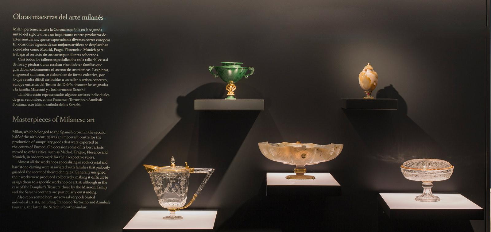 El tesoro del Delfín II. Instalación y restauración