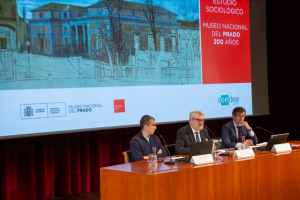 Presentación del primer estudio sociológico sobre los españoles y el Museo del Prado