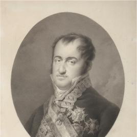 Fernando VII, con uniforme de capitán general
