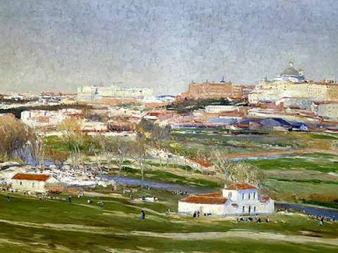 <em>Vista de Madrid desde la pradera de San Isidro</em>, Aureliano de Beruete, comentada por Lucio Muñoz