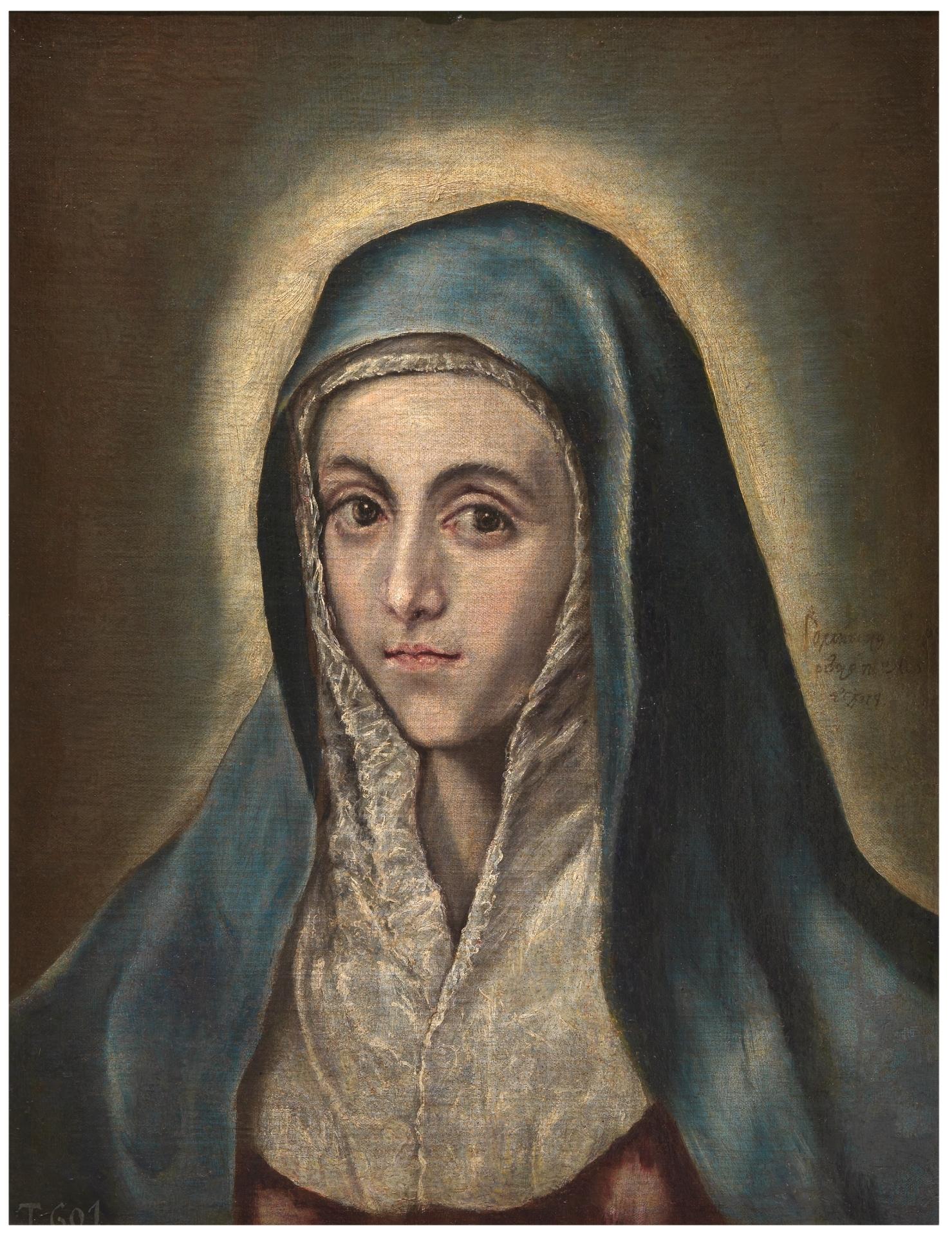 La Virgen María - Colección - Museo Nacional del Prado