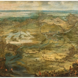 Aerial View of the Siege of Breda