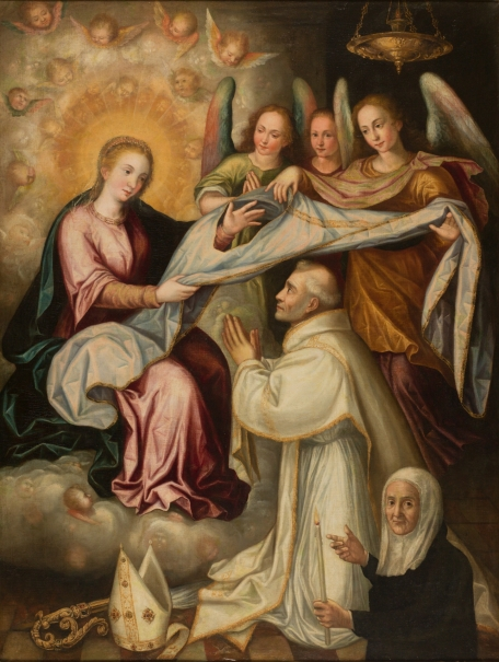 Saint Ildefonso receiving the Chasuble