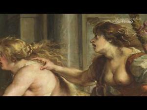 Banquete de Tereo, de Rubens, con comentarios en latín