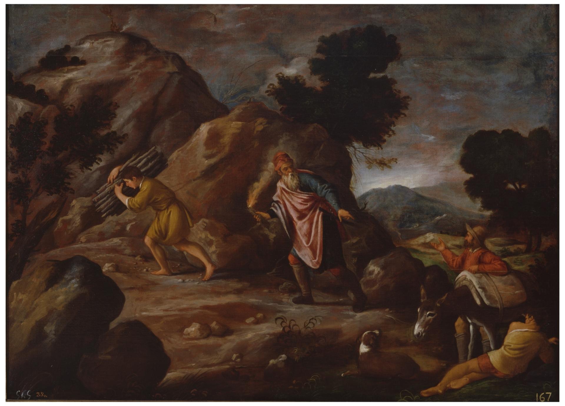 3d79934c55 Abraham e Isaac camino del sacrificio - Colección - Museo Nacional del Prado
