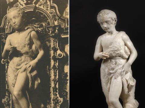 El <em>San Juanito</em>, único Miguel Ángel en España, muerto y resucitado en el Prado