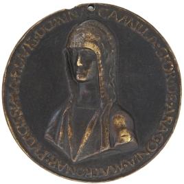 Camilla Sforza de Aragón - Unicornio y carnero