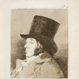 Autorretrato. Francisco Goya y Lucientes, pintor