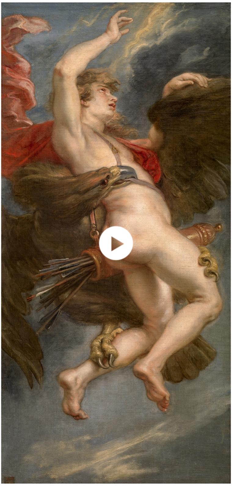El rapto de Ganímedes