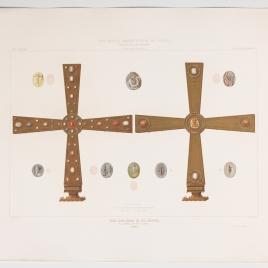 Cruz de los Ángeles en la Cámara Santa de la Catedral de Oviedo