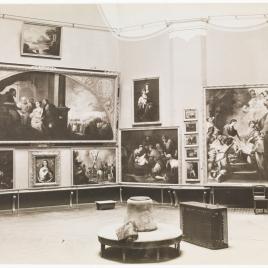 Museo del Prado, vista de la sala de Murillo